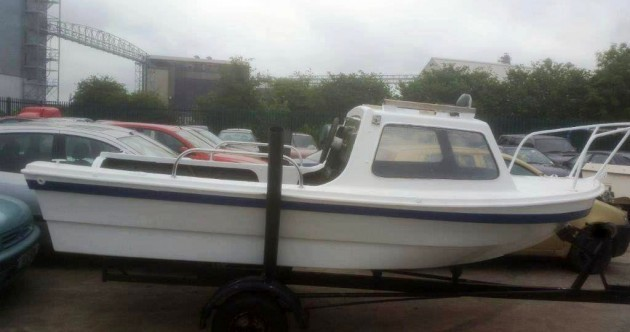 Gardaí are trying to find owners for 10 boats and a caravan