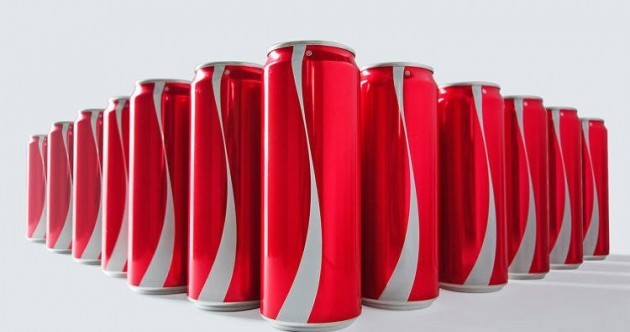 Coke is removing logos from its packaging to try to make you a better person