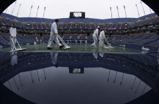 Rain washes out all matches at US Open
