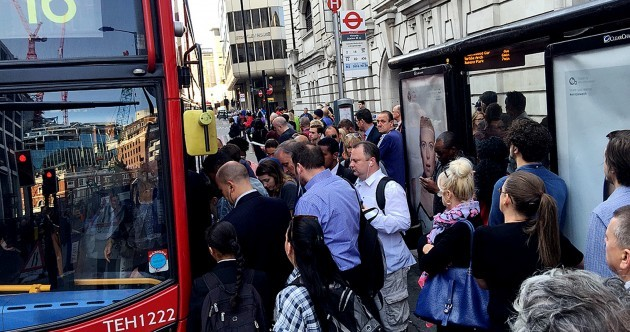 This is what London looks like during a 24-hour transport strike