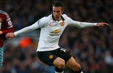 Robin van Persie on the verge of leaving Manchester United