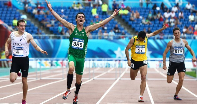 400m hurdle gold for Waterford's Thomas Barr at World University Games