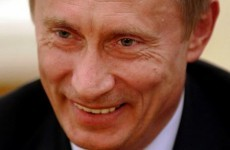 Putin's party launches a 'flag for straights' to combat 'gay fever'