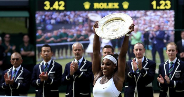 The greatest female athlete of all time? Serena wins sixth Wimbledon, 21st Grand Slam title