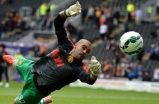 Valdes omitted from United tour squad, but De Gea travels