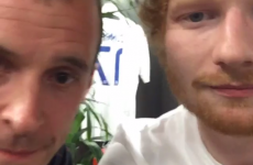 Nidge turned up at an Ed Sheeran gig and look what happened next…