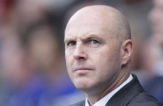 Blackburn fans call for the sacking of Steve Kean