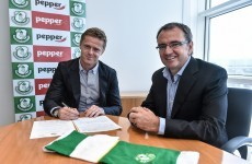 Damien Duff has signed for Shamrock Rovers