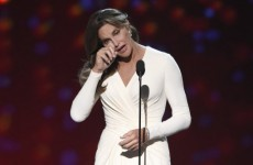 Everyone is talking about Caitlyn Jenner's emotional speech at last night's ESPN awards