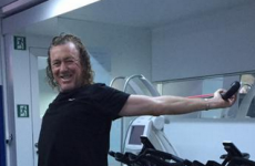 This is quite possibly the greatest picture we've ever seen of Miguel Angel Jimenez