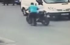 Watch: Thief got bystanders to help load stolen motorbike into van in broad daylight