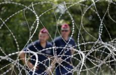 Hungary used convicts to build a giant fence to keep people out of the country