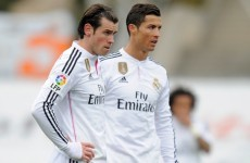 'Choosing between Ronaldo & Bale is like choosing a favourite parent'