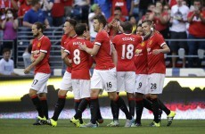 Schneiderlin scores as Manchester United launch tour with win