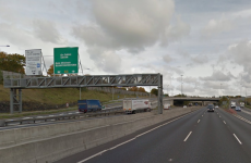 Motorcyclist dies after crashing into M50 barrier