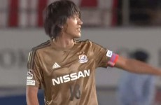 Shansuke Nakamura rolls back the years with a perfect 90th minute free-kick