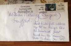 Here is yet more proof that Irish postmen are miracle workers