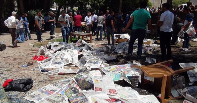 Isis blamed for attack that killed 30 and left 100 injured in Turkish town