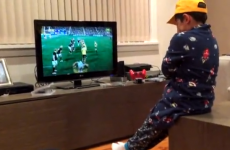 This little Australian kid absolutely lost the plot when they beat South Africa on Saturday