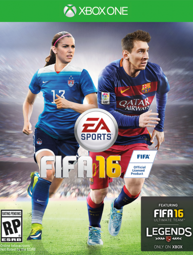 Women are on the Fifa 16 cover – and some people are losing their minds