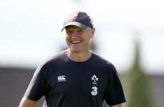 Joe Schmidt has signed a new contract with the IRFU