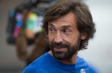 Further proof that Andrea Pirlo has the greatest beard in sport