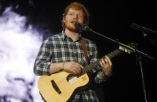 Ed Sheeran has been hanging out with his Irish granny all week