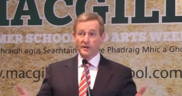 Enda Kenny warns voters not to choose 'political freakshow' of the Opposition