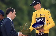 The 5 stages where Chris Froome won the Tour de France