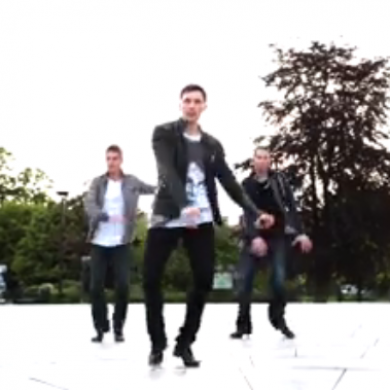 Three lads Irish dancing at UCC have gone viral