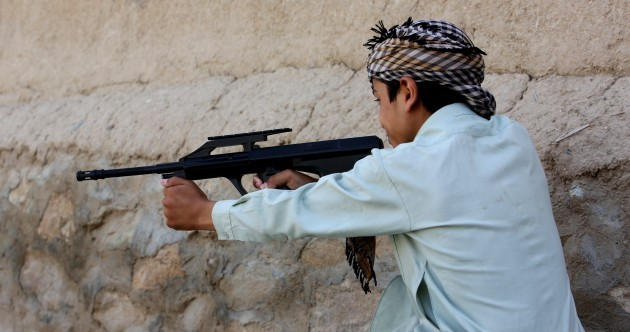 A country full of AK-47s is banning toy guns