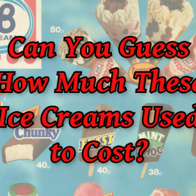 Can You Guess How Much These Ice Creams Used to Cost?