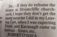 This Irish Times letter will delight anyone who ever sat the Leaving Cert
