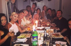 Rita Ora should have checked the table before taking this photo… it's the Dredge