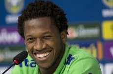 Brazil's Fred reported to have failed a drug test during the Copa America