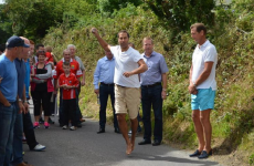 Some Liverpool legends took part in a spot of road bowling in West Cork at the weekend