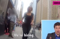 Here's why people aren't impressed with this video of men watching their girlfriends get catcalled