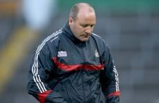 Confirmed: Brian Cuthbert steps down as Cork football manager