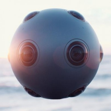 Nokia isn't making phones, but it is making this weird-looking 360-degree camera