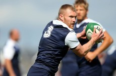 Keith Earls nonchalantly proves he's still got it off the kicking tee