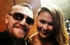 'Ronda Rousey would throw me on my head in literally one second flat' — Conor McGregor