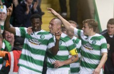 Relief for Celtic as late goal gives them slender Champions League advantage