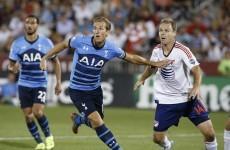 Harry Kane's thunderbolt not enough as Tottenham beaten by MLS All-Stars