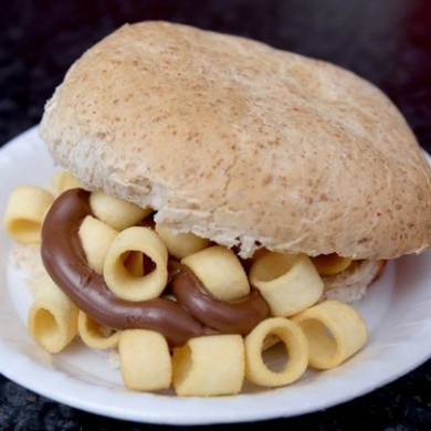This new crisp sandwich cafe in the UK is serving some vile combinations