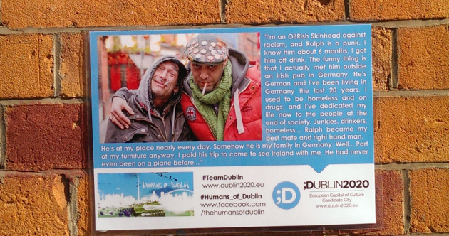 'He's my best friend, my right-hand man' – Look out for these lovely photo stories around Dublin