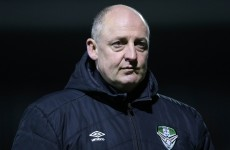 You won't believe why the Cabinteely manager wasn't in the dug-out last night