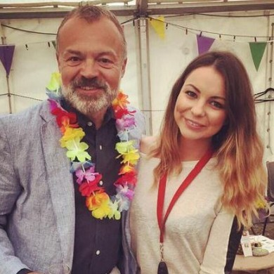 Graham Norton had great craic hosting a quiz in Cork last night