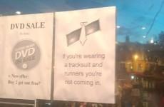 Looks like this Dublin sex shop has a pretty strict dress code…