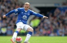 'Wearing the Everton shirt again was a bit weird but it was nice to come back'