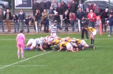 These Argentinian clubs engaged in an energy-sapping 34-second scrum